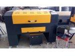 Co2 Lazer Kesim Makinası Yerli Üretim 110X90 Tablalı 100 Wat