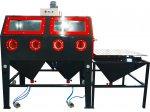 İmkm 2000 - İki Kişilik Manuel Kumlama Makinası