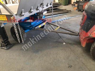 Lastik Tekerlekli Mobil Rampa