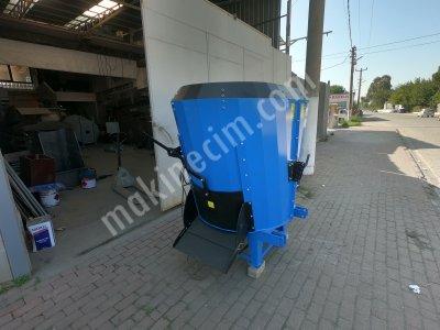 2 M3 380 Volt Elektrikli Ve Traktörden Tahrikli Yem Karma