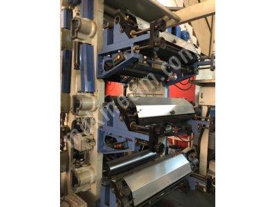 6 Renk Hidrolik Sistem Remak Matbaa Makinesi