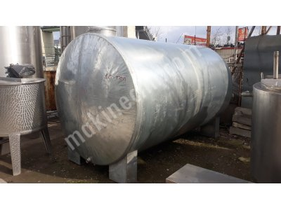 Akaryakıt Mazot Tankı Galvaniz Depo 10 Ton