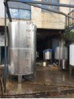 Paslanmaz Su Deposu Kazan Kimya Dinlendirme Kazanlar Depolar Karıştırıcı Mikser Depo Sutok Tankı