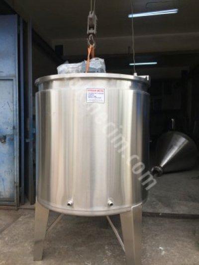 Paslanmaz Karıştırıcı Mikser Tank Kazan Su Deposu Boya Agda Kimya Kozmatik Deterjan Gıda Kazanlar