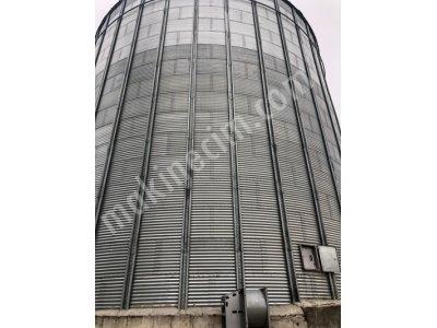 2 Adet 3000 Tonluk Kullanılmamış Çelik Silo-Özel Fiyat