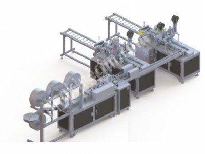 Maske Üretim Makinesi(Otomatik) (Hazırda Yoktur)