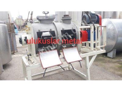 Paslanmaz 316 Kalite 600 Litre Yatay Toz Karıştırıcı Mikser Makina Yapı Kimyasalları Makinaları