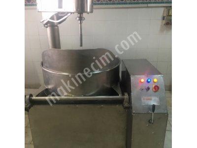 Lokum Pişirme 100 Kg Krom Sürücülü Tuglası Örülü