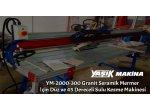 Ym-2000-300 Granit Seramik Mermer İçin Düz Ve 45 Dereceli Sulu Kesme Makinesi