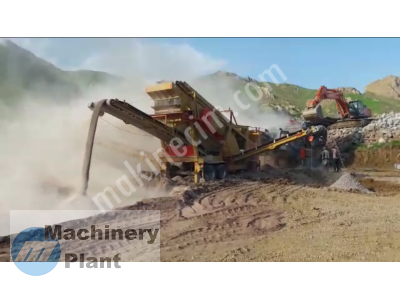 Used Mobile Crusher And Screening