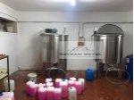 Paslanmaz Karıştırıcı Mikser Tank Kimya Kozmatik Şanpuan Deterjan Kozmatik Gıda Su Deposu Kazan