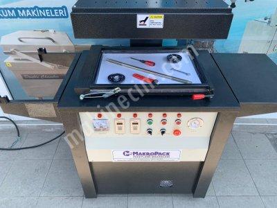 Makropack Karton Üzeri Vakum Makinası Musluk Askılık Paketleme