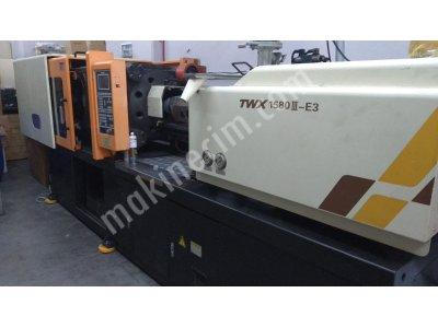 Uwa 158 Ton Plastik Enjeksiyon Makinesi