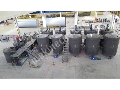 Madeni Yağ Tesisleri / Motor Yağ Tesisleri