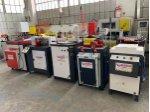 Pvc Makinaları Anadolu Makinadan Yeni  5 Li Set  Gri Bakımlı