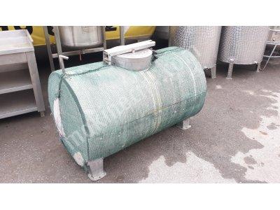 550 Litre 2. El Süt Taşıma Tankı İzoleli