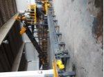 Otomatik Plastik Beton Kalıplarına Yaş Beton Dolum Makinası