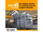 Clk-140 | 320-600 Tph Primer Çeneli Kırıcı