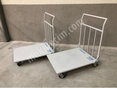 Yük Koli Paket Ağır Malzeme Taşıma Arabası