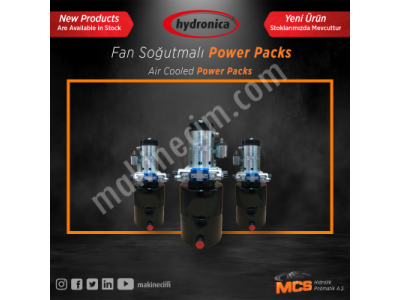 Hidrolik Power Packs (Fan Soğutmalı)