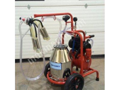 Tekli süt sağma makinesi paslanmaz güğümlü