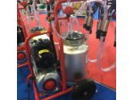Çiftli Süt Sağma Makinesi Aliminyum Güğümlü