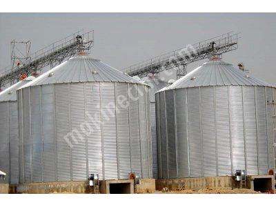 500 Tonluk Çelik Silo-İkinci El Fiyatına Sıfır