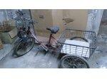 Önden Motorlu Üç Tekerlekli Bisiklet Velosolex