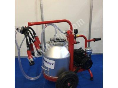 Tekli kuru sistem süt sağım makinesi