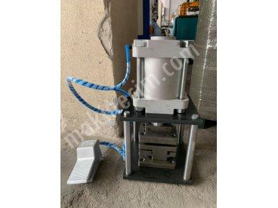 Pvc Destek Sacı Patlatma Makinası Kilit Ve Üçlü Kolyeri Delme ( Yeni )