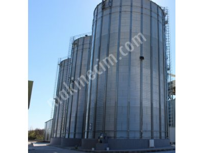 1500 Tonluk Çelik Silo- Sıfır