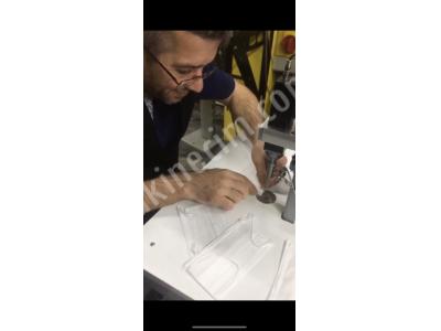 Stokta Var Maske Kulak İpi Yapıştırmak İçin Ultrasonik Kaynak Punta Makinesi Hemen Teslim