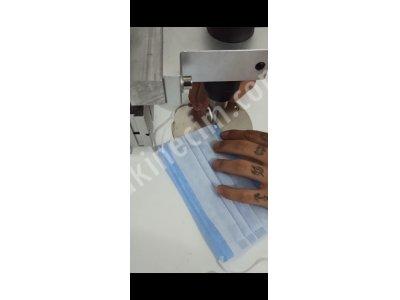 Ultrasonik Kaynak Maske Lastik Yapıştırma Punto Makinası