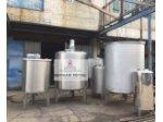 Paslanmaz Karıştırıcı Mikser Tank Kimya Kozmatik Gıda Depo
