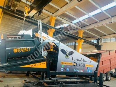 Turbomix-100 Mobil Beton Santrali +90 507 793 2479
