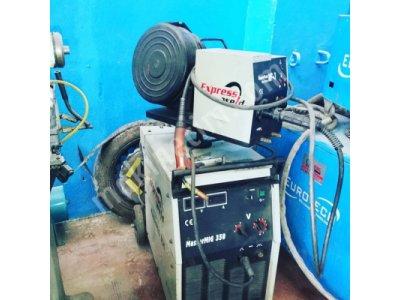 Express Marka 350'lik Gazaltı Kaynak Makinesi Çantalı Satılıktır