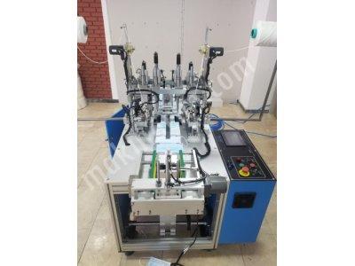 Ultrasonik Maske Lastik Çakma Makinası