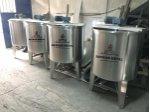 Paslanmaz Karıştırıcı Mikser Kazan Kimya Kozmatık Gıda Depo Tank