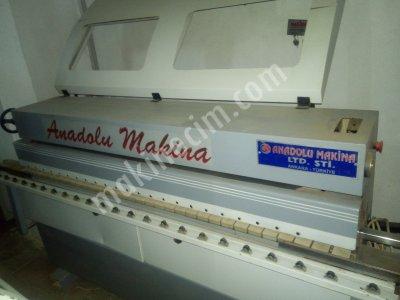 Anadolu Marka 2010 Model 3 Ünite Kenar Bantlama Makinası
