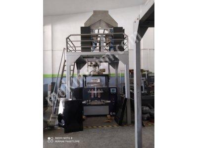 4 Terazili Paketleme Makinası