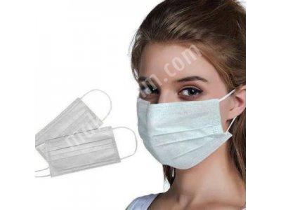 Cerrahi Maske (3 Katli, Ultrasonik, 50 Adetlik Kutulu Fiyatıdır)