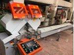 Alüminyum Çift Kafa Kesim Makinası Risus Marka Dilimleme Modlu