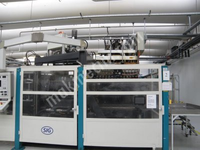 Şişirme Makinası,14 Kafa Alman