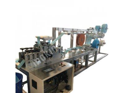 Tam Otomatik Kumaş Lastikli Maske Makinası (250.000 Adet/gün)