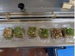 Lokum paketleme makinası