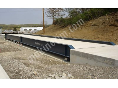 3X16 Kolonlu 60 Ton Tır Kantarı