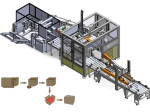 CARTESIAN ROBOT PACKAGE FILLING LINE
