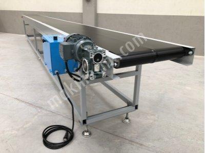 Ürün Aktarma Paket Taşıma Montaj Üretim Konveyörü 7 Mt