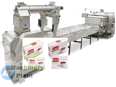 خط تصنيع وتعبئة مكعبات السكر