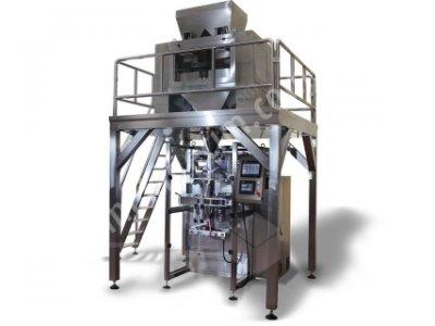 4 kefeli sıfır terazili paketleme makinası